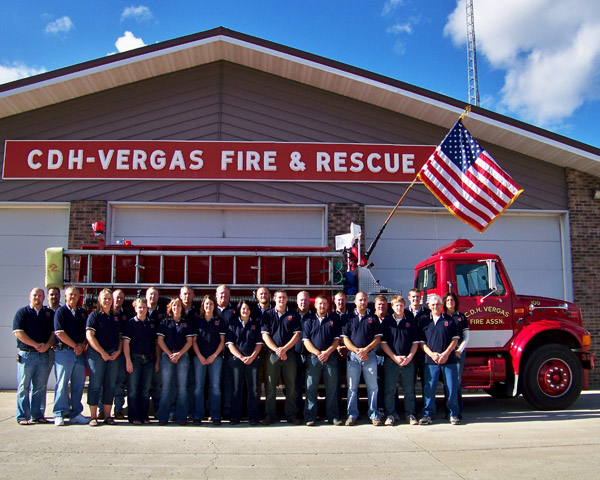 The Fire & Rescue Squad serves the City of Vergas and Candor, Dora and Hobart Townships.